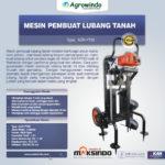 Jual Mesin Pembuat Lubang Tanah AGR-PT62 di Bogor