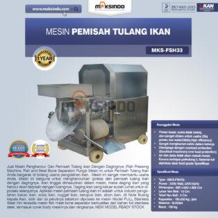Jual Mesin Pemisah Tulang IkanFSH33 di Bogor