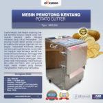Jual Mesin Perajang Keripik Kentang dan French Fries MKS-280 di Bogor