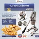 Jual Alat Cetak Long Potato MKS-LPCT30 di Bogor