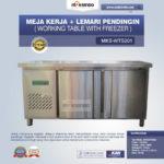 Jual Meja Kerja + Lemari Pendingin (Working Table With Freezer) MKS-WTS201 di Bogor