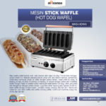 Jual Mesin Stick Waffle (hot dog wafel) di Bogor