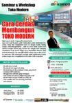 Seminar Workshop Toko Modern, Sabtu 18 Agustus 2018