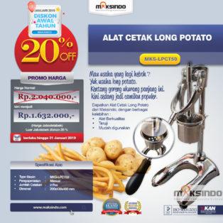 Jual Alat Cetak Long Potato MKS-LPCT50 di Bogor