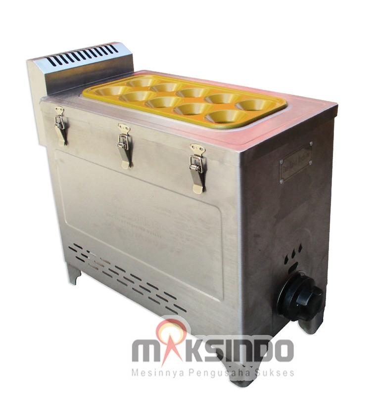 Jual Mesin Pembuat Egg Roll (Gas) GRILLO-12SS di Bogor