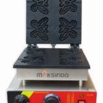 Jual Mesin Waffle Maker Bentuk Kupu-Kupu (Butterfly) MKS-BFLYW23 di Bogor