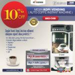 Jual Mesin Pembuat Kopi Instant (Coffee Vending) di Bogor