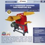 Jual Mesin Kombinasi Chopper dan Penepung Biji (HMCP20) di Bogor