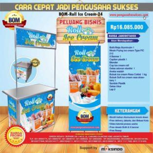 Peluang Bisnis Roll Ice Cream