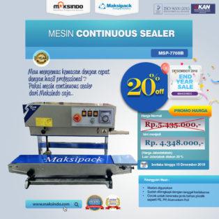 Jual Mesin Continuous Band Sealer MSP-770IIB di Bogor