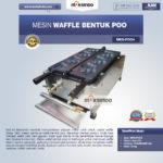 Jual Mesin Waffle Bentuk Poo (MKS-POO4) di Bogor