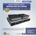 Jual Listrik Waffle Bentuk Hati 50 Lubang MKS-HSW50E di Bogor