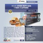 Jual Mesin Oven Gas 2 Loyang (MKS-GO12) di Bogor