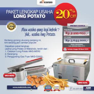 Jual Paket Mesin Long Potato Kentang Panjang di Bogor