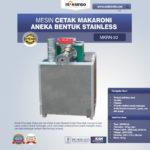 Jual Mesin Cetak Makaroni Aneka Bentuk Stainless di Bogor