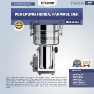 Jual Penepung Herba, Farmasi, Biji (ML500) di Bogor