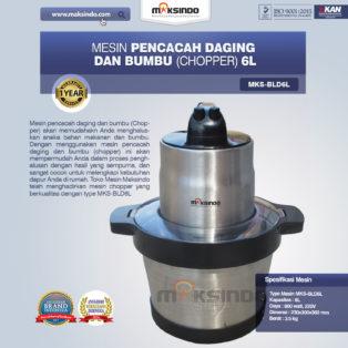 Jual Mesin Pencacah Daging dan BumbuMKS-BLD6L di Bogor