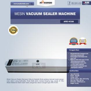 Jual Mesin Vacuum Sealer Machine ARD-VC85 Di Bogor