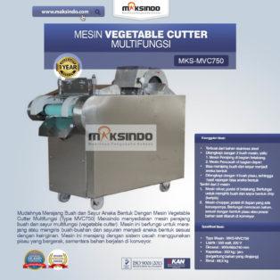Jual Mesin Vegetable Cutter Multifungsi (Type MVC750) di Bogor