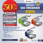 Jual Mesin Ice Crusher MKS-CRS20 di Bogor