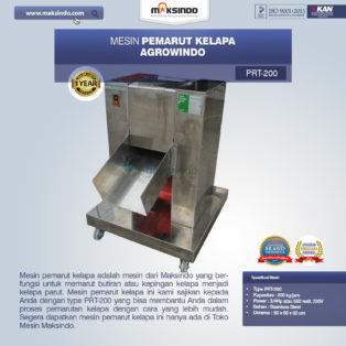 Jual Mesin Pemarut Kelapa PRT-200 Di Bogor