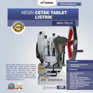 Jual Mesin Cetak Tablet Listrik – TBL55 di Bogor