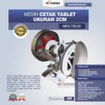 Jual Mesin Cetak Tablet Ukuran 2cm MKS-TBL66 di Bogor