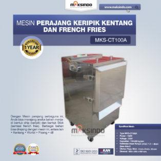 Jual Mesin Perajang Keripik Kentang dan French Fries – MKS-CT100A di Bogor