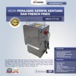 Jual Mesin Perajang Keripik Kentang dan French Fries – MKS-CT100 di Bogor