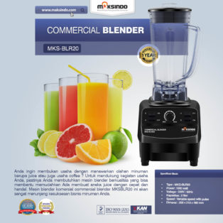 Jual Commercial BlenderMKS-BLR20 di Bogor