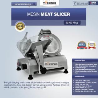 Jual Mesin Meat Slicer (MKS-M12) di Bogor