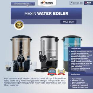 Jual Mesin Water Boiler 30 Liter (MKS-D30) di Bogor