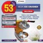 Jual Mesin Ice Crusher MKS-CRS30L di Bogor