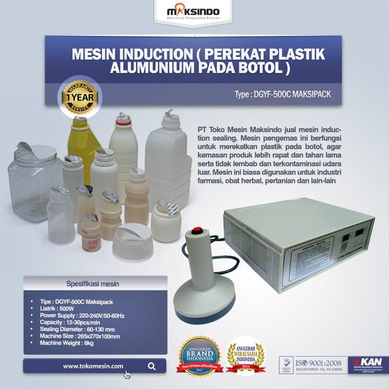 Jual Mesin Induction (Perekat Plastik Alumunium Pada Botol) di Bogor