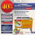Jual Mesin Egg Roll Gas 6 Lubang GRILLO-GS10 di Bogor
