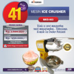 Jual Mesin Es Serut (Ice Crusher MKS-003) di Bogor