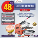 Jual Mesin Es Serut (Ice Crusher- MKS002) di Bogor