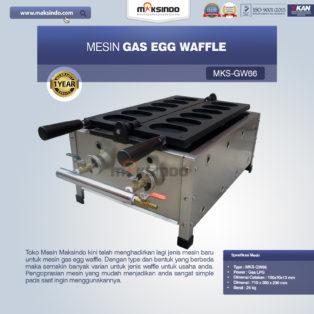 Jual Mesin Gas Egg Waffle GW66 di Bogor