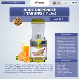 Jual Mesin Juice Dispenser (ADK-17×1) di Bogor