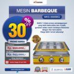 Jual Pemanggang BBQ Stainless (gas) 4 Tungku di Bogor