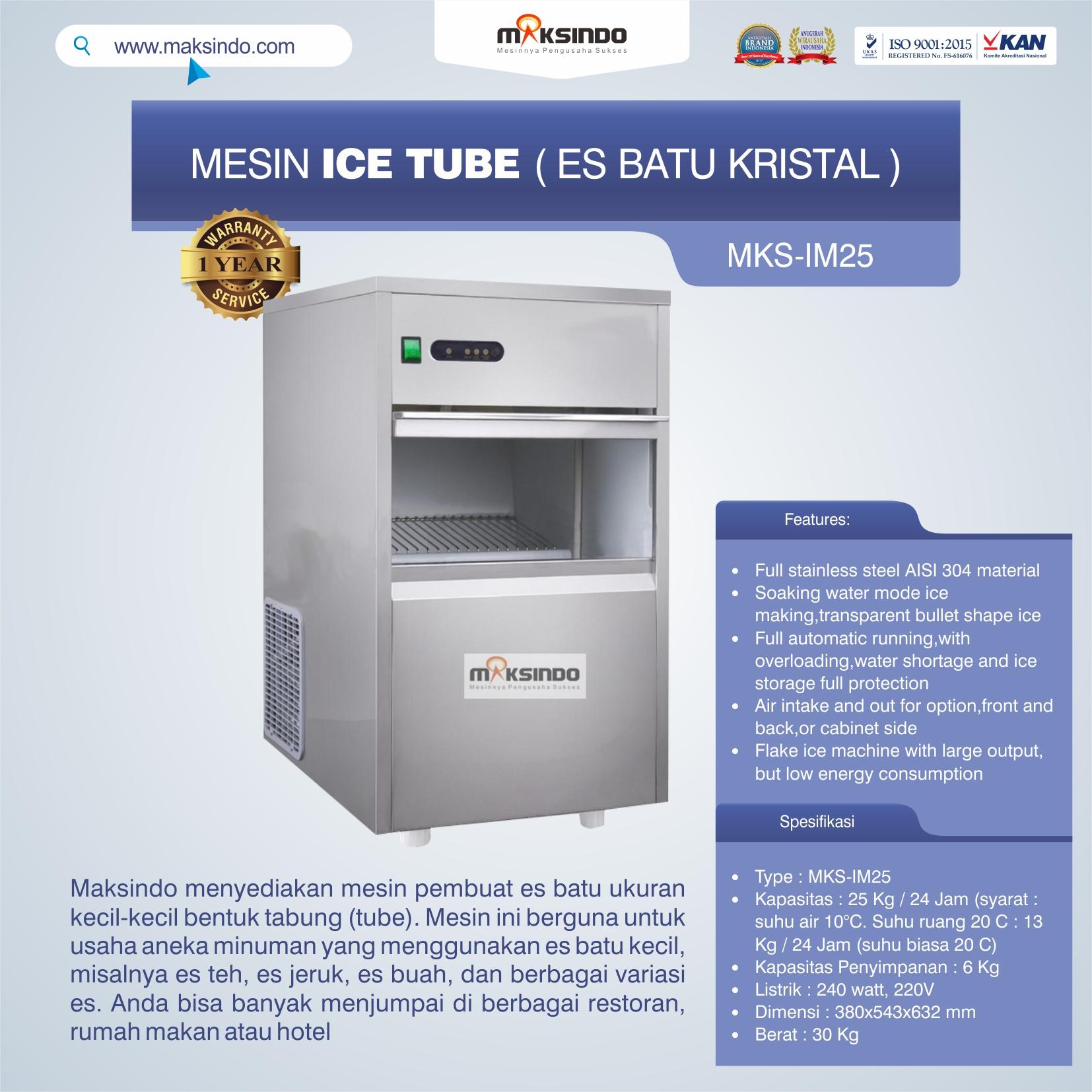 Jual Mesin Tube Ice di Bogor