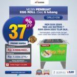 Jual Egg Roll Snack Telur Rumah Tangga ARDIN di Bogor