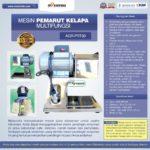 Jual Mesin Pemarut Kelapa Multifungsi AGR-PRT30 di Bogor