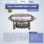 Jual Oval Chafing Dish 5 Liter di Bogor