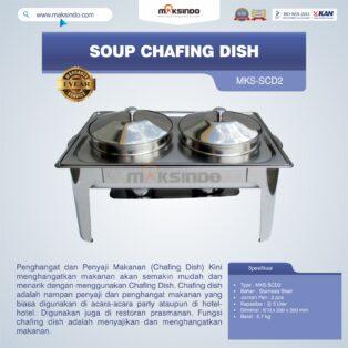 Jual Soup Chafing Dish MKS-SCD2 di Bogor