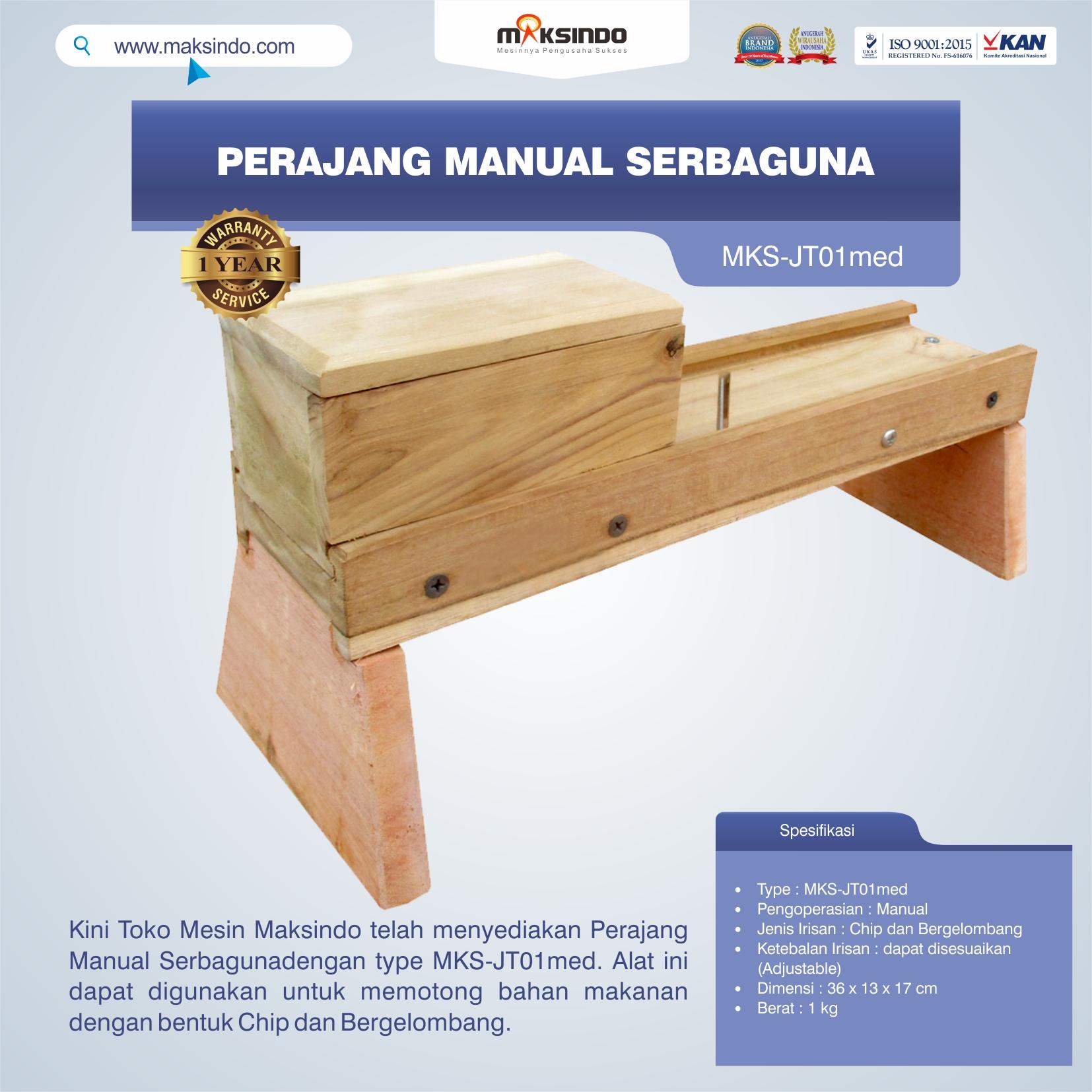 Jual Perajang Manual Serbaguna MKS-JT01med di Bogor