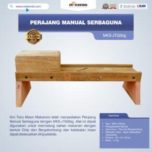 Jual Perajang Manual Serbaguna MKS-JT02big di Bogor