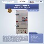 Jual Mesin Rice Cooker Kapasitas Besar MKS-GPN12 di Bogor