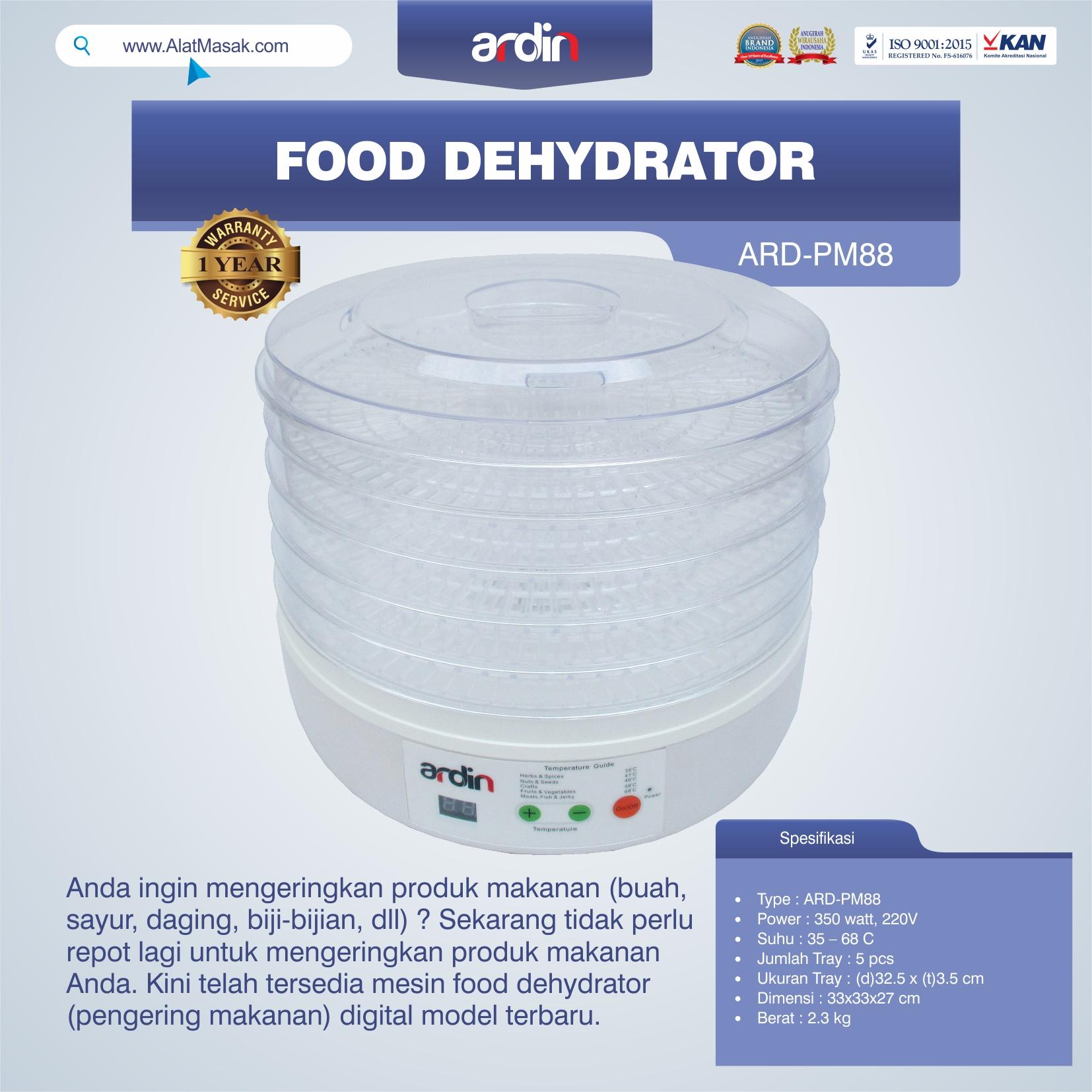 Jual Food Dehydrator ARD-PM88 di Bogor