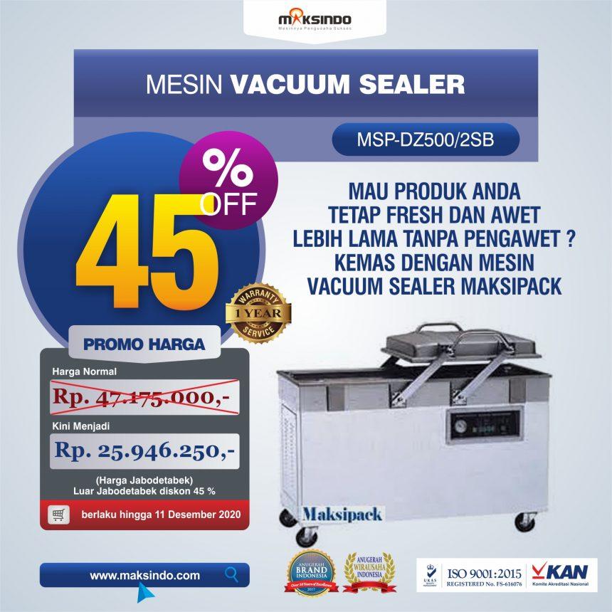 Jual Mesin Vacuum Sealer (DZ500/2SB) Di Bogor